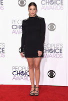 Ashley Benson People's Choice Awards 2016 red carpet dresses