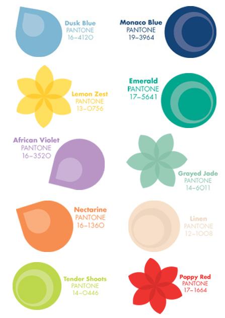 pantone spring 2013 colors
