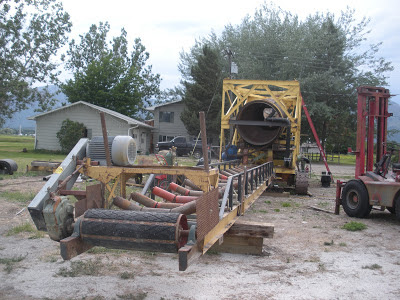 Gold wash plant and conveyor