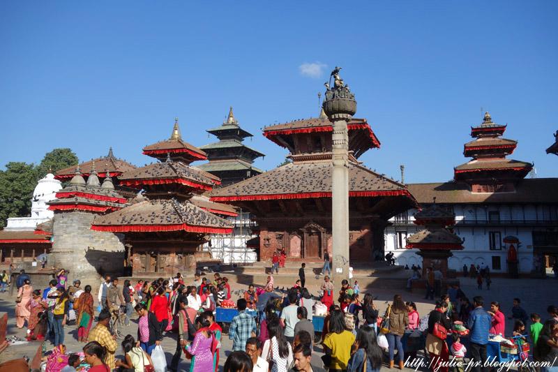 Nepal, Kathmandu, Durbar Square