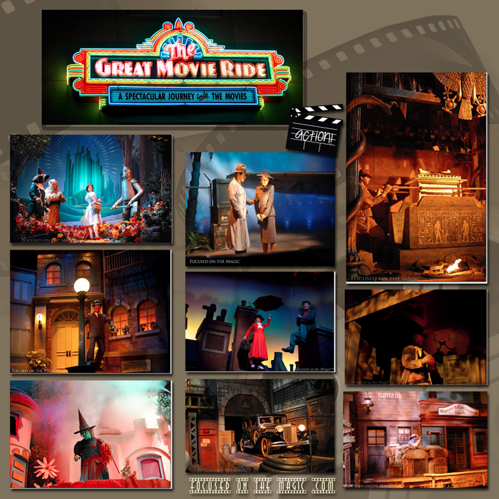 The Great Movie Ride , Disney Hollywood Studios |Focused on the Magic