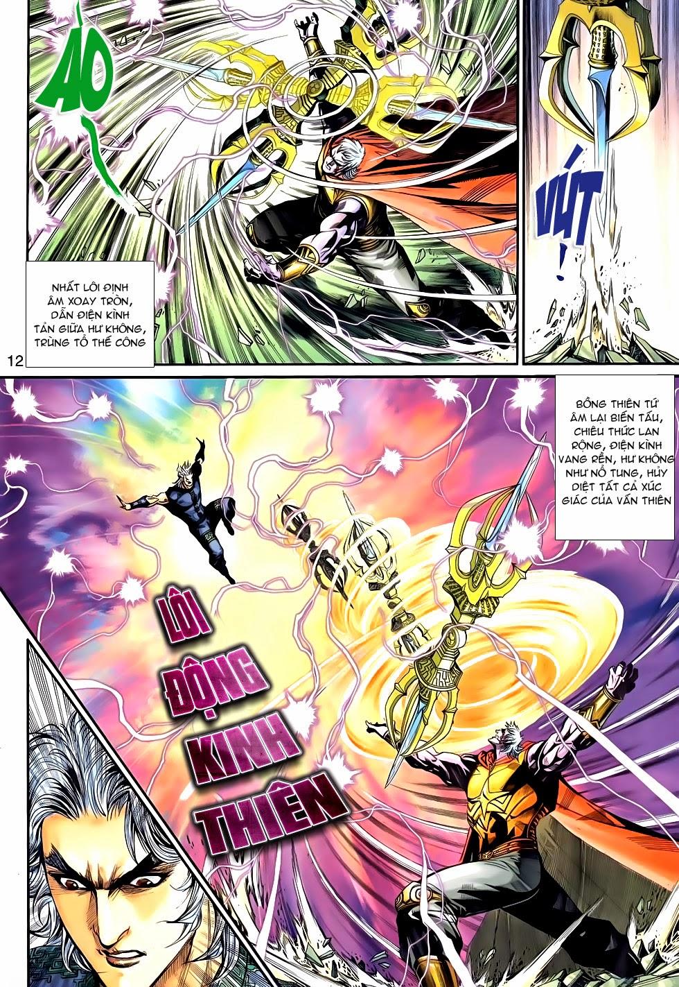 Thần Binh Tiền Truyện 2 chap 21 Trang 12 - Mangak.info