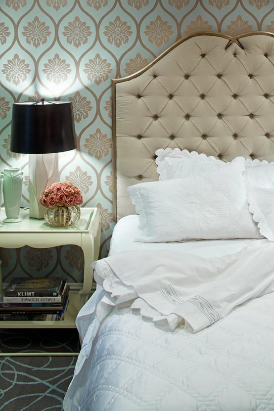 decoracao de interiores quartos romanticos
