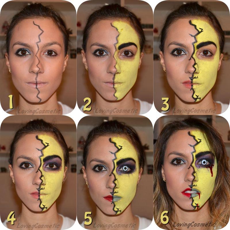 Caracterizaci n halloween tutorial zombie maquillaje - Como maquillarse de zombie ...