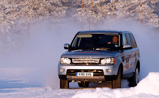 range rover best on ice road