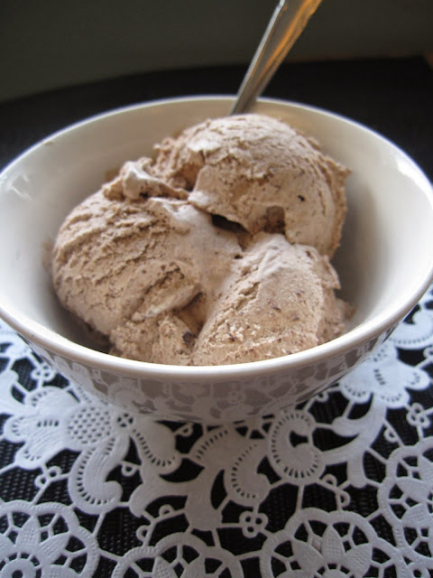 Peanut Butter and Nutella Ice Cream (No Ice Cream Maker Required)
