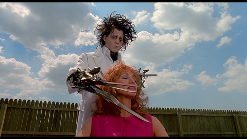 Kathy Baker Edward Scissorhands Scene Kathy baker does a great job