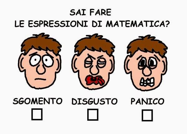matematica, umorismo, vignetta