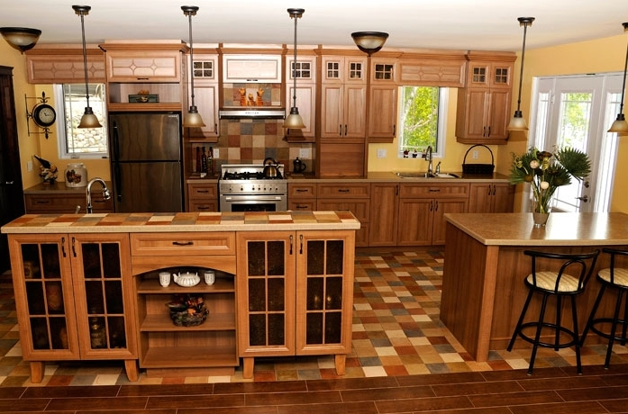 Diseño y decoración de la casa: la cocina rustica francesa