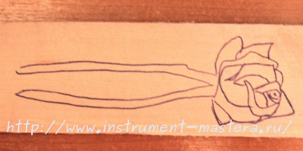 Как сделать деревянную заколку для волос