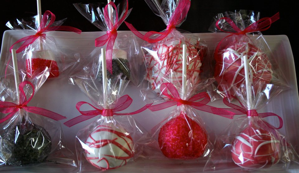valentines day gifts, cake pop & candy bouquet arrangements, Ideas