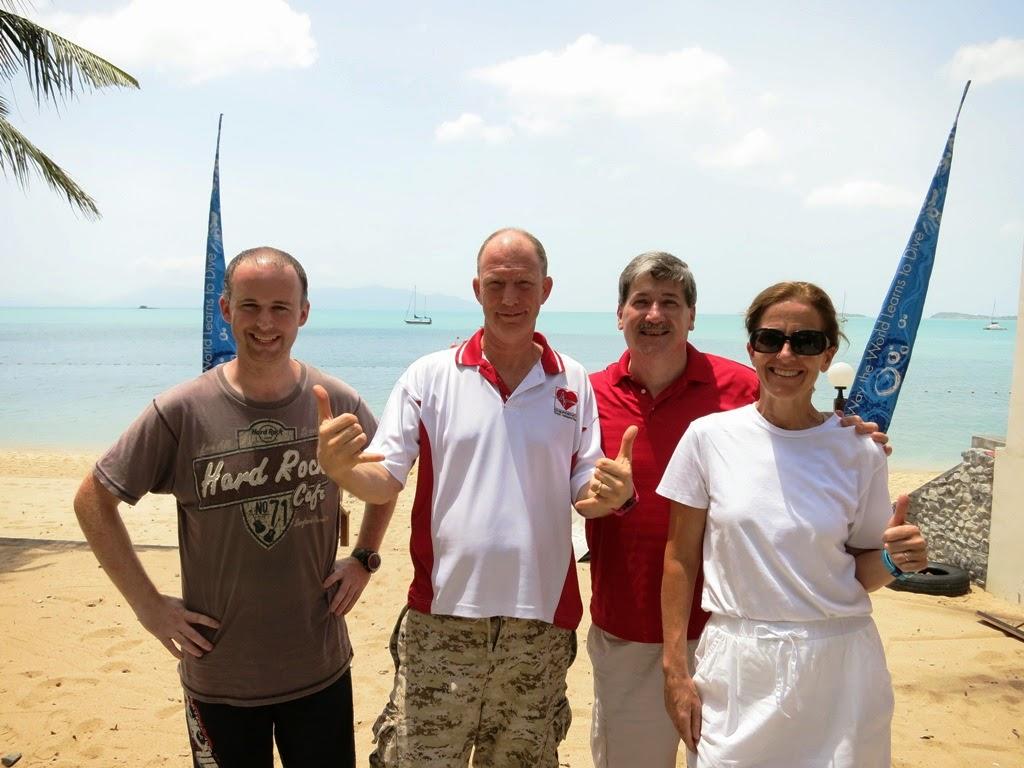 PADI IDC June 2014, Koh Samui, Thailand