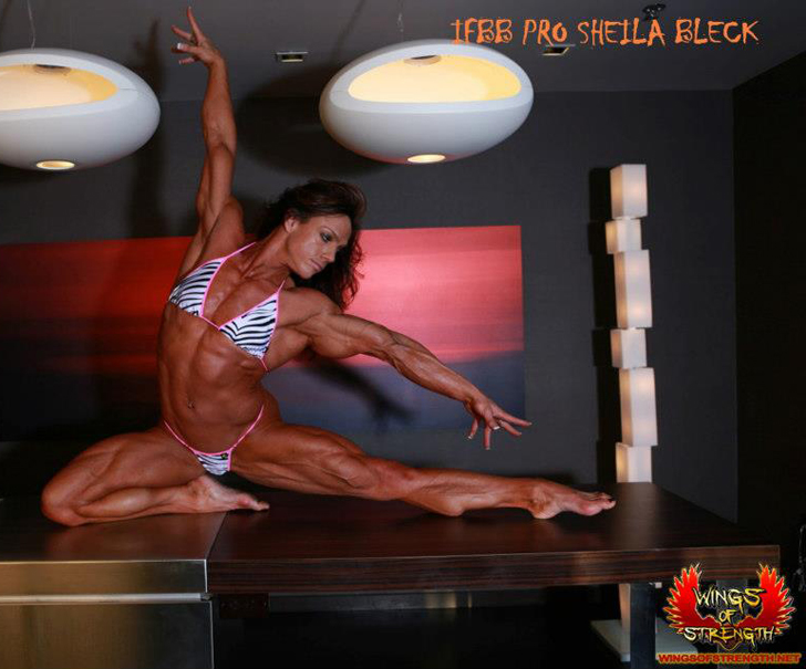 Sheila Bleck Modeling Her Ripped Physique
