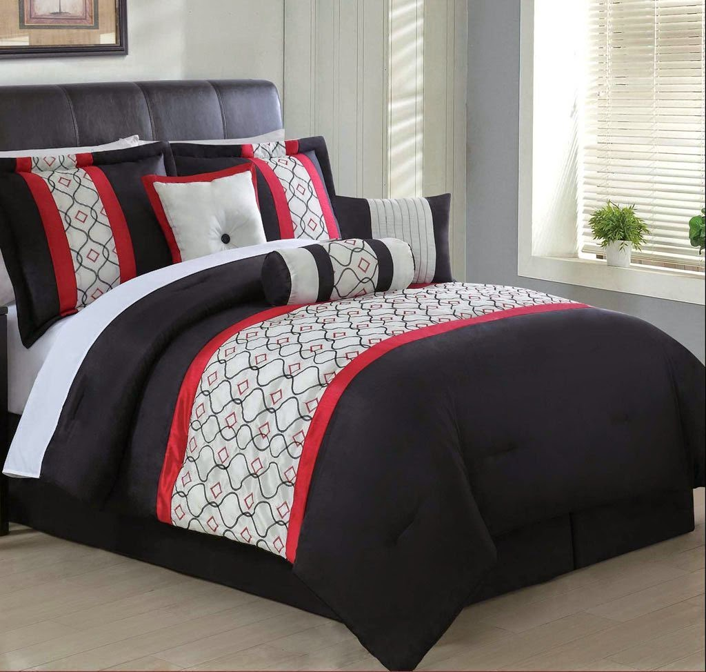 Total Fab Red White and Black forters & Bedding Sets