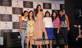 Actress Sonam Kapoor Latest Pictures at Loreal Paris Femina Women Award 2015 Announcement  38