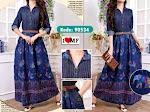 Baju Muslim Gamis Jeans MF271 HABIS