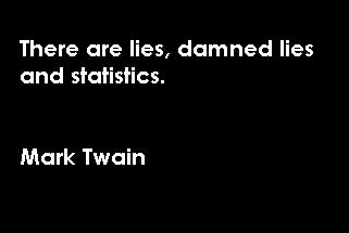 Statistics Quotes and Sayings