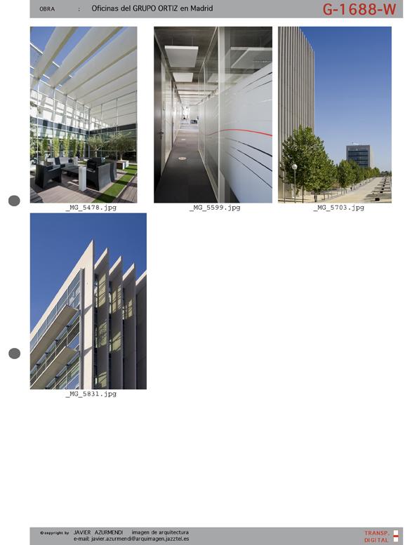 Javier azurmendi fotograf a de arquitectura for Grupo vips oficinas centrales