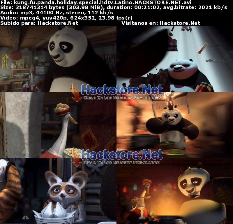 Captura Kung Fu Panda Especial de Navidad (2010) DVDRip Latino