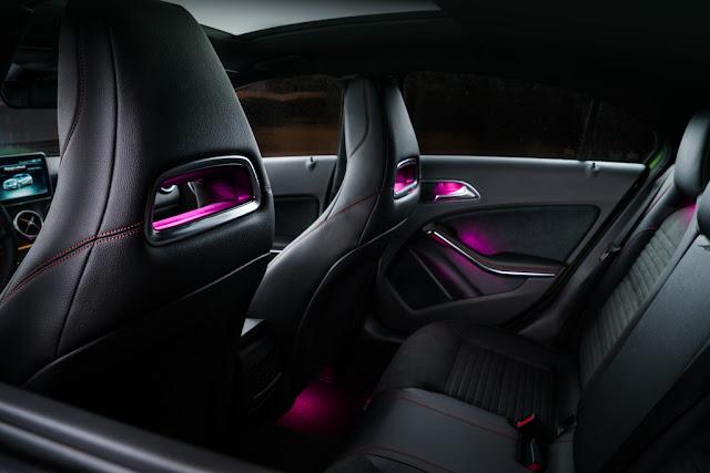 w176 interior