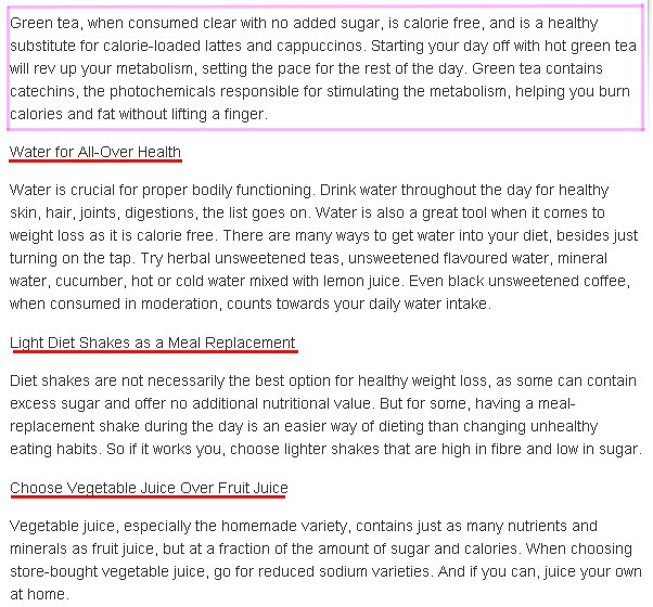 Stopping diet soda weight loss image 2