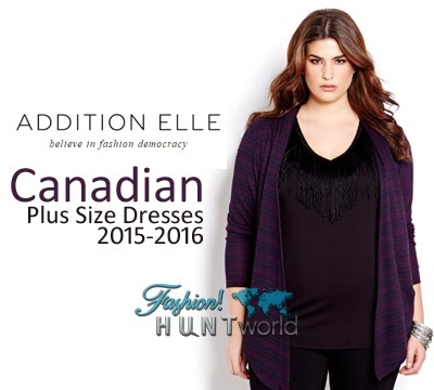 Canadian Plus Size Women Dresses 2015-2016