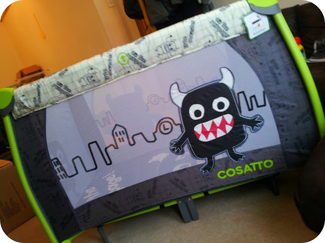 cosatto travel cot, little monster cosatto, cosatto review