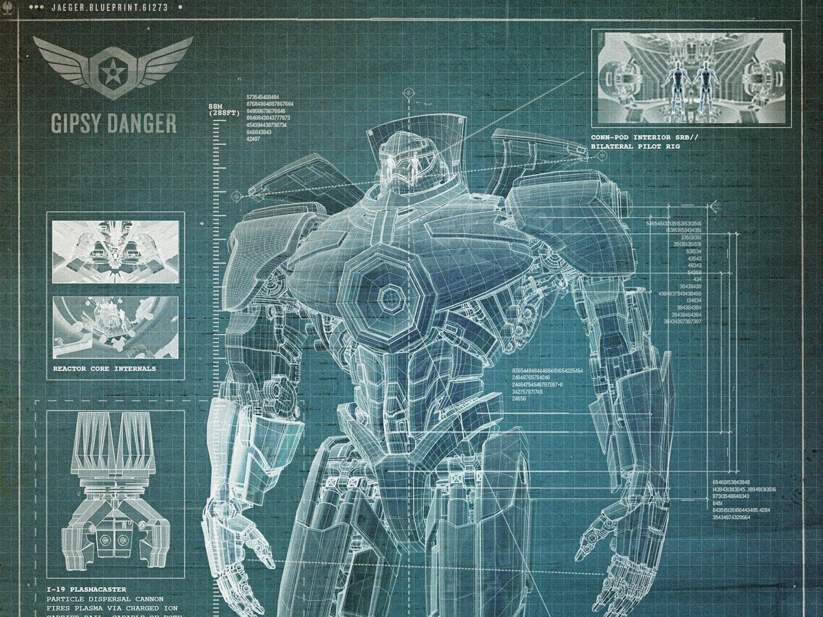 Pacific Rim Gypsy Danger Art Full HD Wallpaper Wallpaperrs - pacific rim gypsy danger art wallpapers
