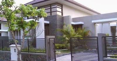 4 contoh pagar rumah modern | desain rumah minimalis
