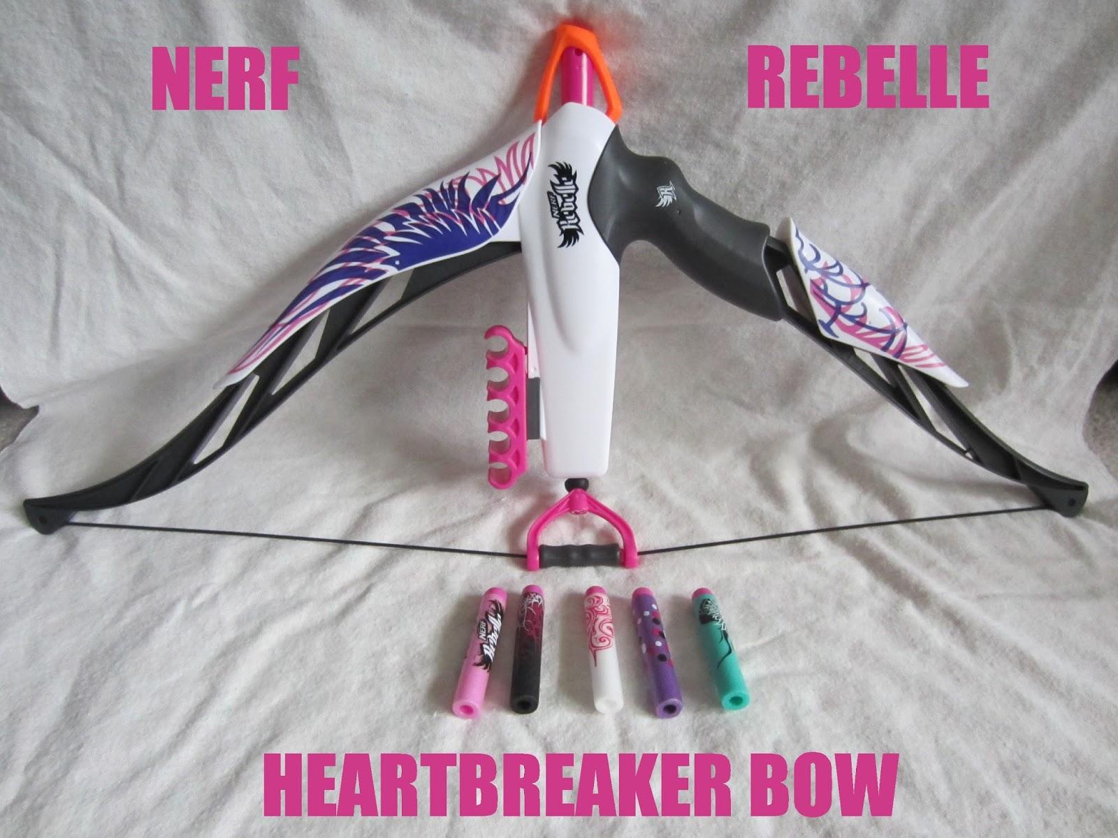 nerf rebelle heartbreaker bow wwwimgkidcom the image