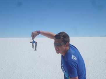 La Salar De Uyuni (Salt Flats)