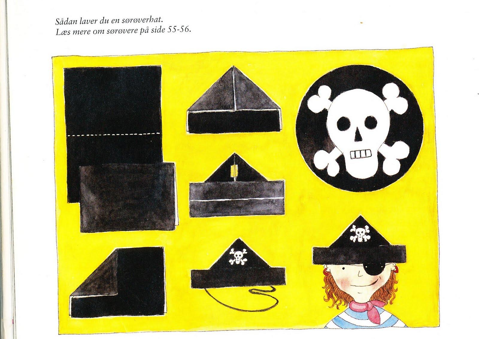 pirat kostume lav selv