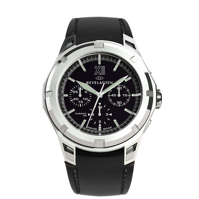 Revelation - R03 Chronographe RS black