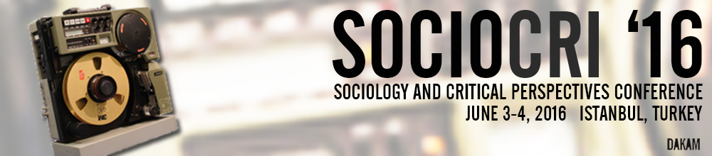 SOCIOCRI / Sociology  and Critical Perspectives Conference on Social Movements