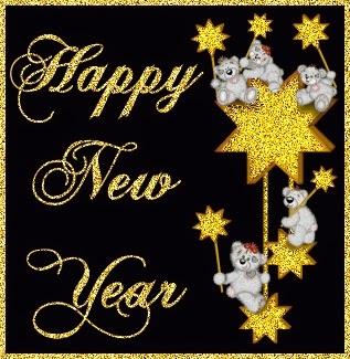 Shining Stars Happy New Year 2015 Images