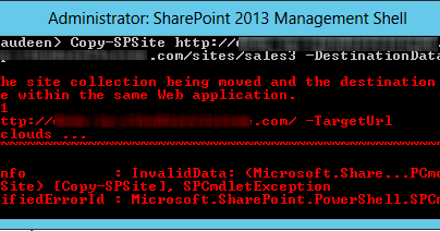 clone sharepoint site