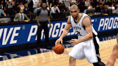NBA 2K13 Tim Duncan Championship Update Patch