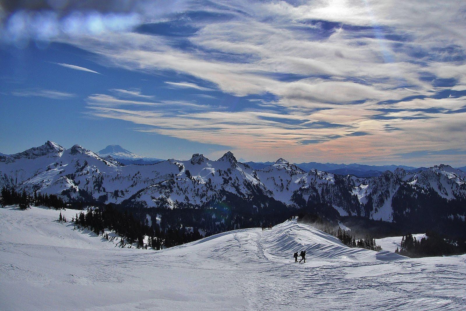 Ski Touring Mt Rainier