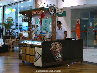 Nutty Bavarian: Quiosque no Shopping Paralela
