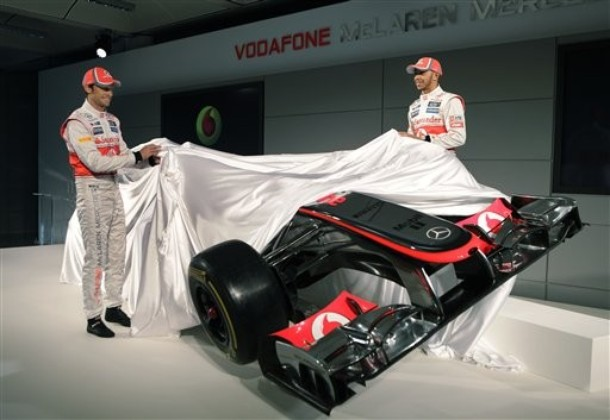 McLaren MP4-27-Launching