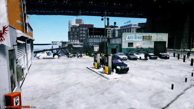 Car Tuning Garage Para GTA IV