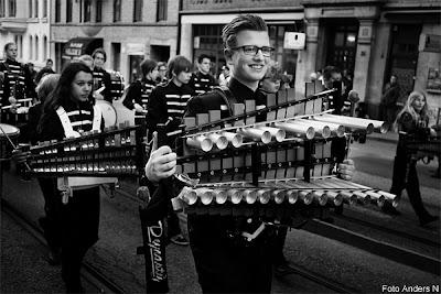 kortege, göteborg, chalmers, kortegen, chalmerskortegen, cortegen, drumkorps, slagverk, orkester, xylofon