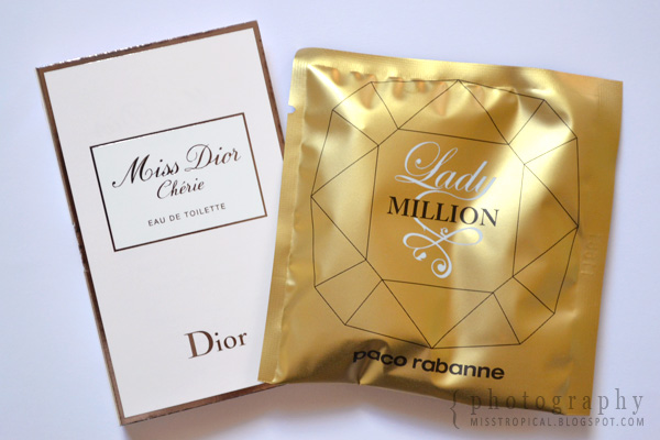 Douglas Proben Miss Dior Cherie paco rabanne Lady Million