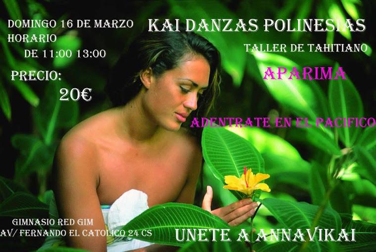annavikai danzas polinesia primera en la comunidad valenciana