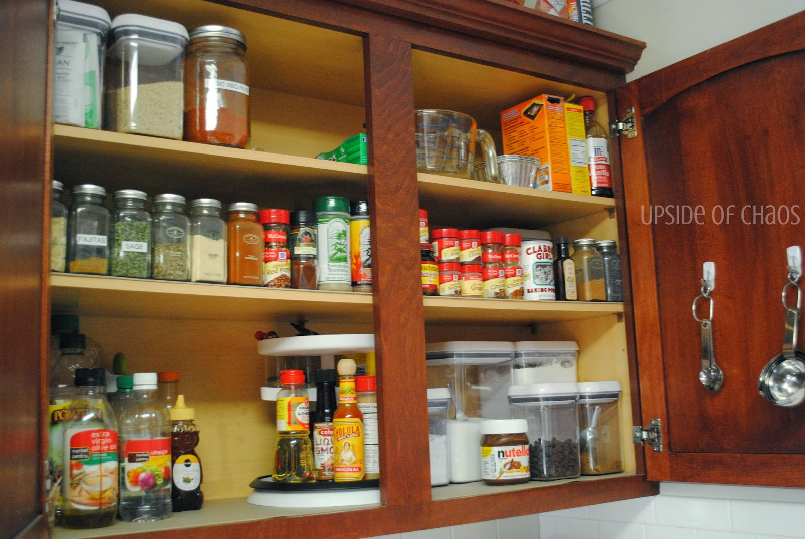 My Spice Cabinet Has Been Driving Me Crazy! I Canu0027t Ever Seem To Find  Anything And There Is No Flow To It What So Ever. So I Decided To Clean The  Whole ...