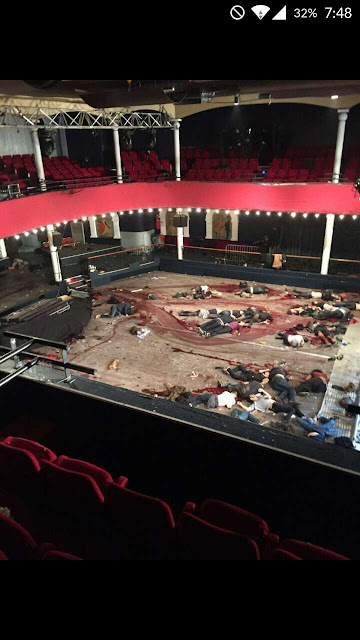 Aftermath photo: Inside Bataclan theater paris isis france