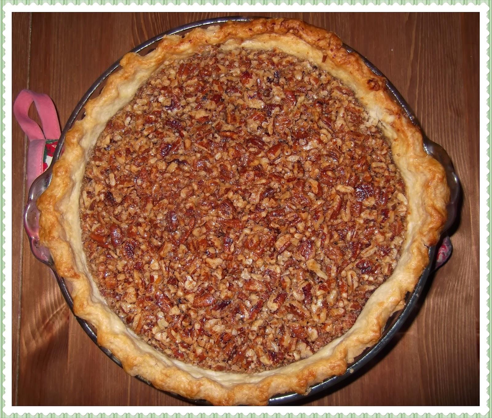 Rosie's Country Baking: Maple Pecan Pie