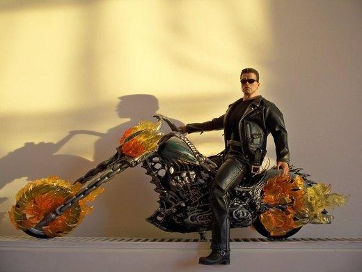 T-800 Ghost Rider Motorcycle por Minas-Tirith-Hakan