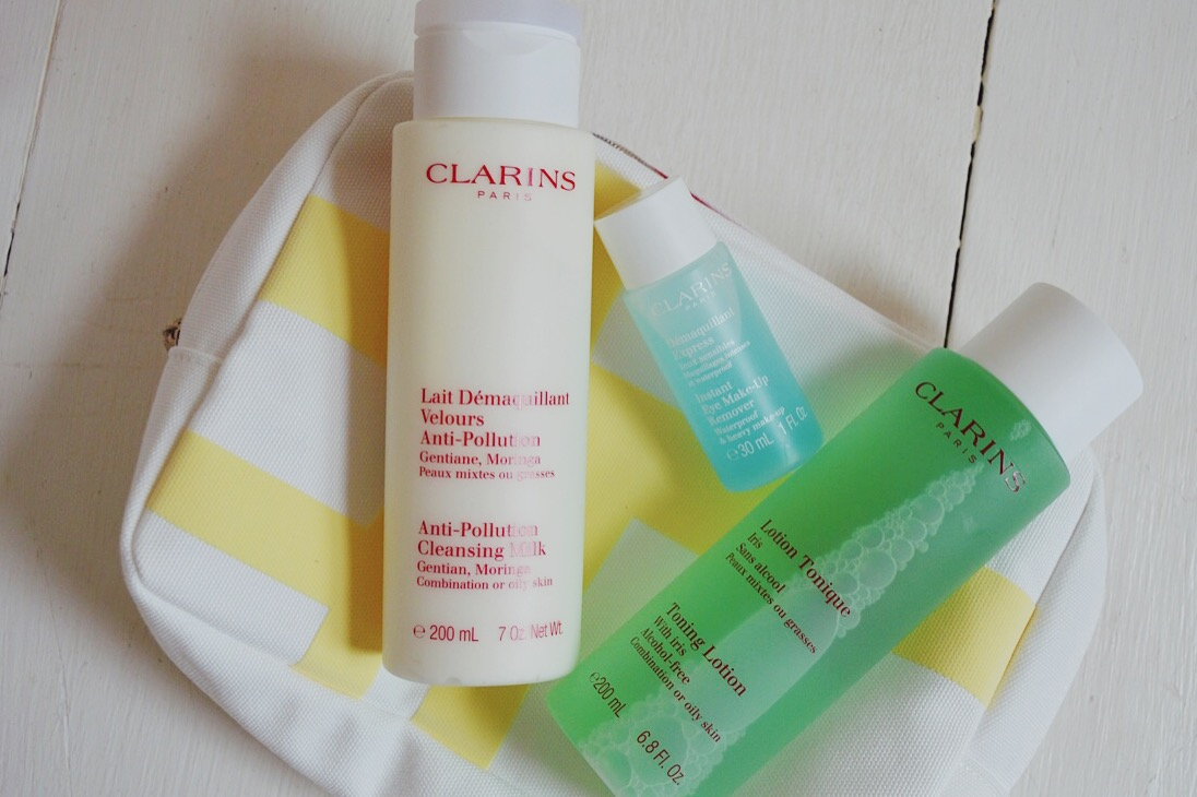 Clarins Cleansing Trousse Skincare Set Review, beauty bloggers, FashionFake