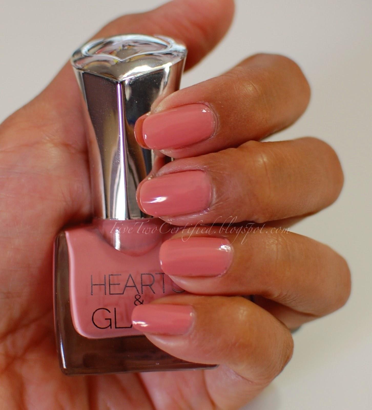 fivetwo beauty: New Fall Nail Polish shades from Hearts & Glass